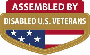 ASSEMBLED BY DISABLED U.S. VETERANS
