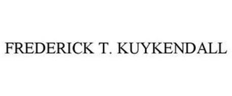 FREDERICK T. KUYKENDALL