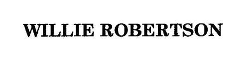 WILLIE ROBERTSON