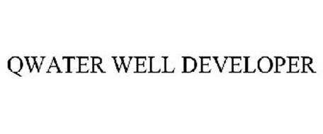 QWATER WELL DEVELOPER