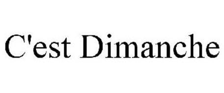 C'EST DIMANCHE