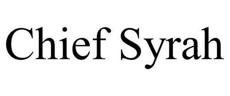CHIEF SYRAH