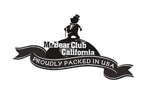 MR. BEAR CLUB CALIFORNIA PROUDLY PACKED IN USA