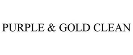PURPLE & GOLD CLEAN