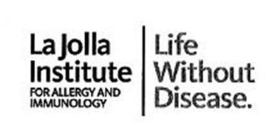 LA JOLLA INSTITUTE FOR ALLERGY AND IMMNOLOGY LIFE WITHOUT DISEASE.