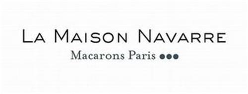 LA MAISON NAVARRE MACARONS PARIS