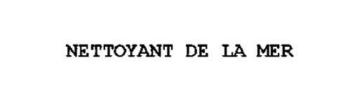 NETTOYANT DE LA MER