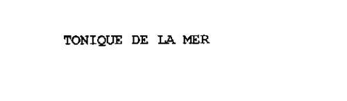 TONIQUE DE LA MER