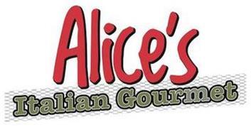 ALICE'S ITALIAN GOURMET