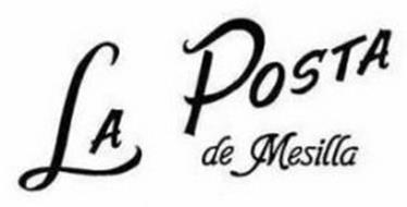 LA POSTA DE MESILLA