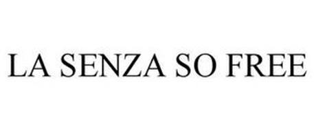 LA SENZA SO FREE