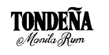 TONDENA MANILA RUM