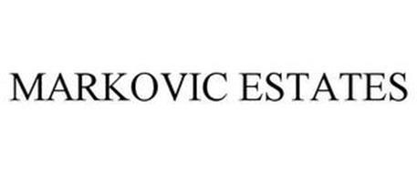 MARKOVIC ESTATES