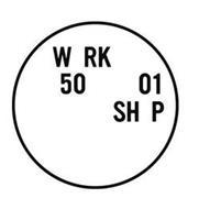 W RK 50 01 SH P