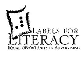 LABELS FOR LITERACY EQUAL OPPORTUNITY IN ADVERTISING