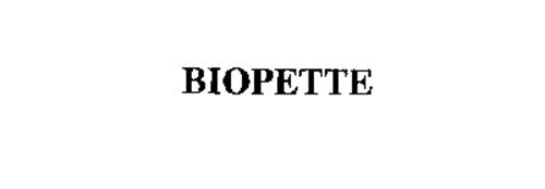BIOPETTE