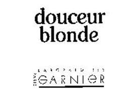 DOUCEUR BLONDE LABORATOIRES GARNIER PARIS