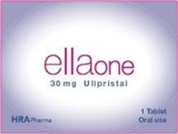 ELLAONE 30 MG ULIPRISTAL HRAPHARMA 1 TABLET ORAL USE