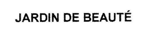 JARDIN DE BEAUTÉ