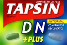 TAPSIN DN +PLUS COMPUESTO DN PLUS MAVER ANTIGRIPAL COMPRIMIDOS RECUBIERTOS