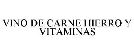VINO DE CARNE HIERRO Y VITAMINAS