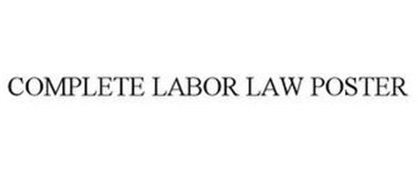 COMPLETE LABOR LAW POSTER