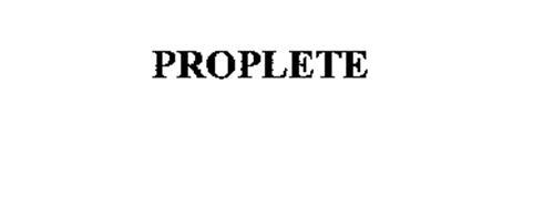 PROPLETE
