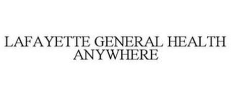 LAFAYETTE GENERAL HEALTH ANYWHERE
