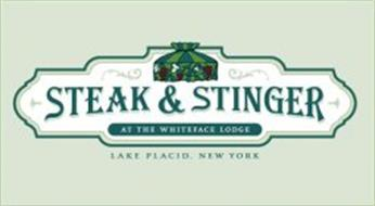 STEAK & STINGER AT THE WHITEFACE LODGE,LAKE PLACID, NEW YORK