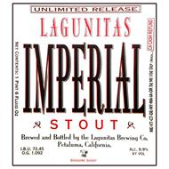 UNLIMITED RELEASE LAGUNITAS IMPERIAL STOUT BREWED AND BOTTLED BY THE LAGUNITAS BREWING CO. PETALUMA, CALIFORNIA DOGGONE GOOD!