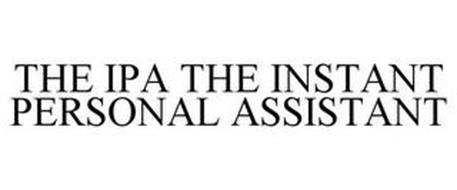 THE IPA THE INSTANT PERSONAL ASSISTANT
