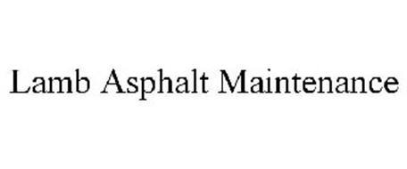 LAMB ASPHALT MAINTENANCE