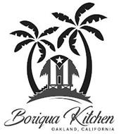 BORIQUA KITCHEN OAKLAND, CALIFORNIA