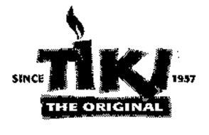 TIKI THE ORIGINAL SINCE 1957