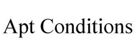 APT CONDITIONS