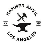 HAMMER ANVIL XX XIV LOS ANGELES