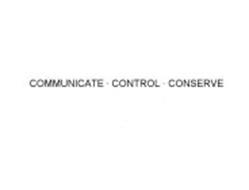 COMMUNICATE · CONTROL · CONSERVE