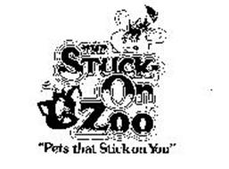 """THE STUCK-ON ZOO """"PETS THAT STICK ON YOU"""""""