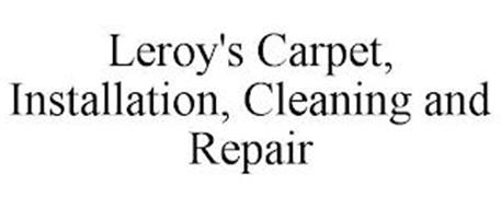 LEROY'S CARPET, INSTALLATION, CLEANING AND REPAIR