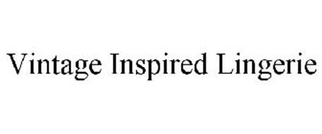 VINTAGE INSPIRED LINGERIE
