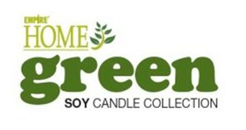 EMPIRE HOME GREEN SOY CANDLE COLLECTION