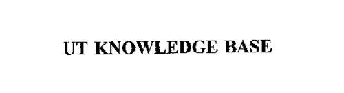 UT KNOWLEDGE BASE