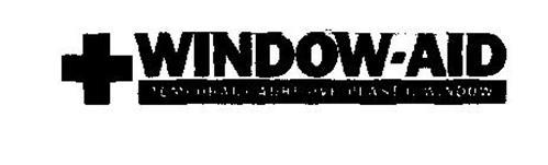 WINDOW-AID TEMPORARY ADHESIVE PLASTIC WINDOW