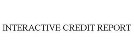 INTERACTIVE CREDIT REPORT