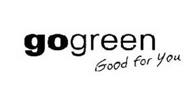 GOGREEN GOOD FOR YOU