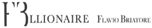FBLLIONAIRE FLAVIO BRIATORE