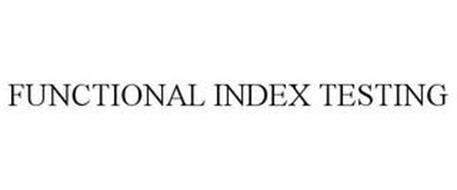 FUNCTIONAL INDEX TESTING