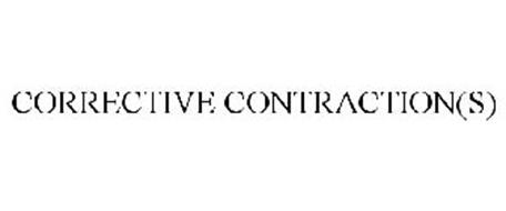 CORRECTIVE CONTRACTION(S)