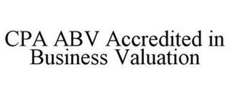 CPA ABV ACCREDITED IN BUSINESS VALUATION
