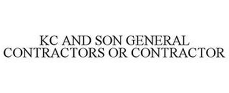KC AND SON GENERAL CONTRACTORS OR CONTRACTOR